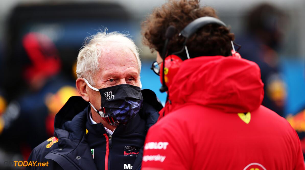 """Helmut Marko duidelijk: """"We willen in de Formule 1 blijven"""""""