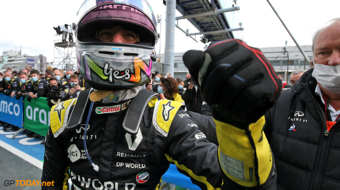 Eerste race bij Renault drukte Ricciardo met neus op de feiten