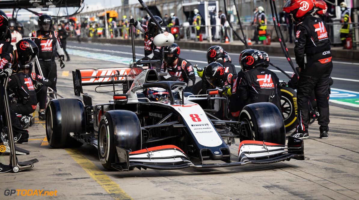 Punten Grosjean zijn belangrijk voor de teamsfeer binnen Haas