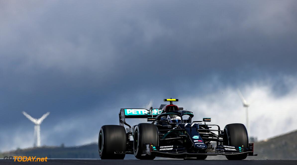 VT2 Grand Prix van Portugal: Max Verstappen volgt Valtteri Bottas in tweede training met vuur en actie