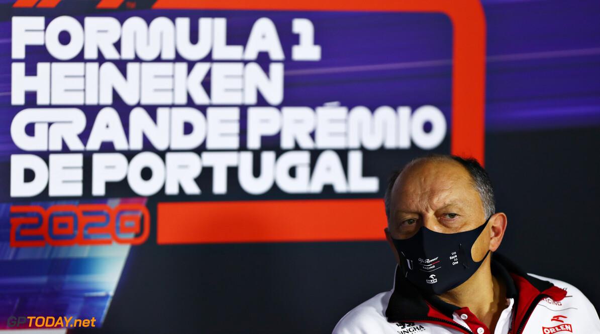 """Frédéric Vasseur na GP Portugal: """"Helaas hebben onze inspanningen geen punten opgeleverd"""""""