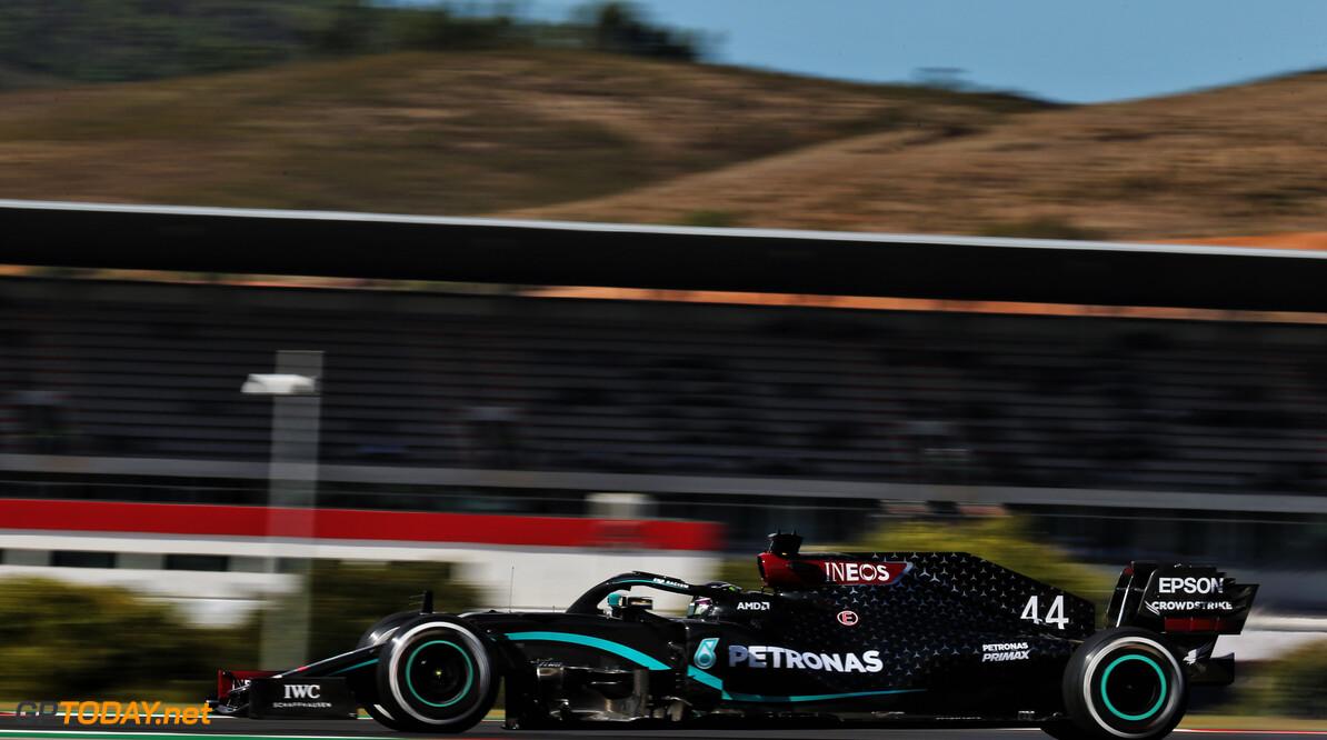Vrije training 3 Portugal: Bottas en Hamilton snelste, Max Verstappen met probleem op P3