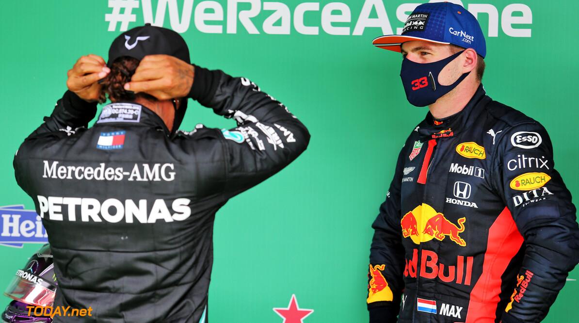 """Brown: """"Max Verstappen en George Russell in 2022 bij Mercedes"""""""