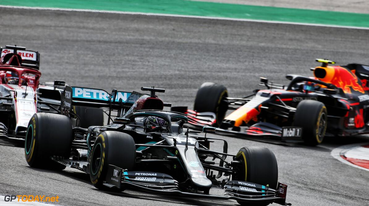<b>Video:</b> Mercedes legt strategie Grand Prix van Portugal uit
