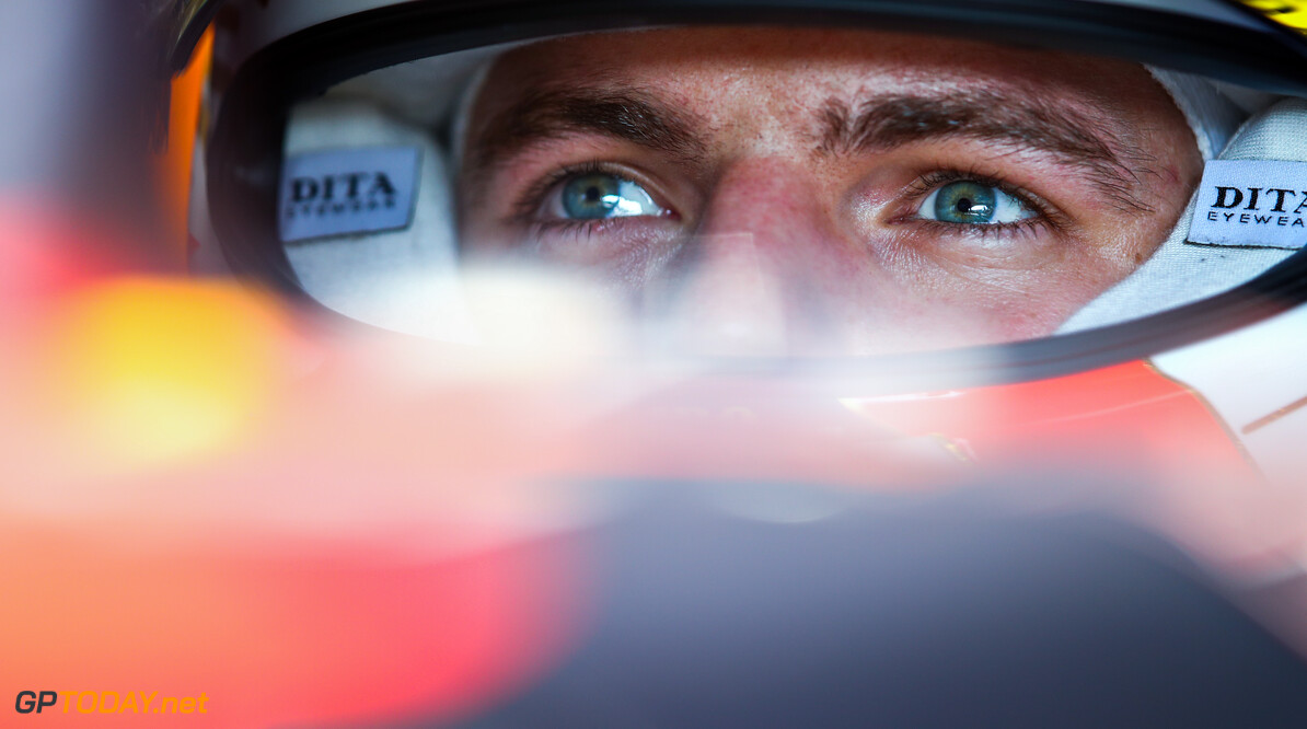 IMOLA, ITALY - OCTOBER 31: Max Verstappen of Netherlands and Red Bull Racing prepares to drive in the garage during practice ahead of the F1 Grand Prix of Emilia Romagna at Autodromo Enzo e Dino Ferrari on October 31, 2020 in Imola, Italy. (Photo by Mark Thompson/Getty Images) // Getty Images / Red Bull Content Pool  // SI202010310195 // Usage for editorial use only //  F1 Grand Prix of Emilia Romagna - Practice & Qualifying     SI202010310195