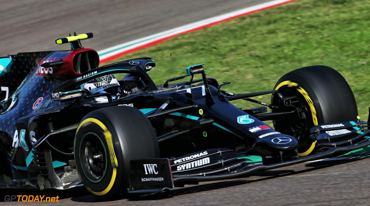 F1 kwalificatie GP Emilia Romagna: Bottas pakt pole voor Hamilton, Verstappen derde