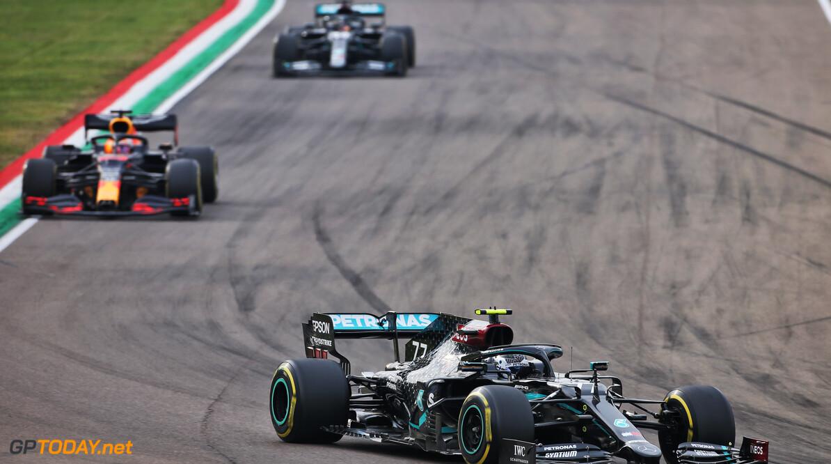 """Valtteri Bottas na GP Imola: """"Door schade was mijn auto slecht bestuurbaar"""""""