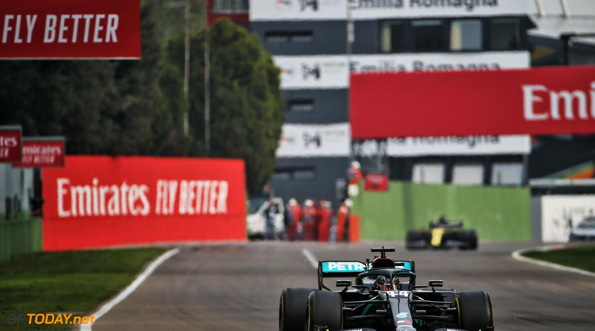"""Lewis Hamilton: """"Het was een moeilijke race"""""""