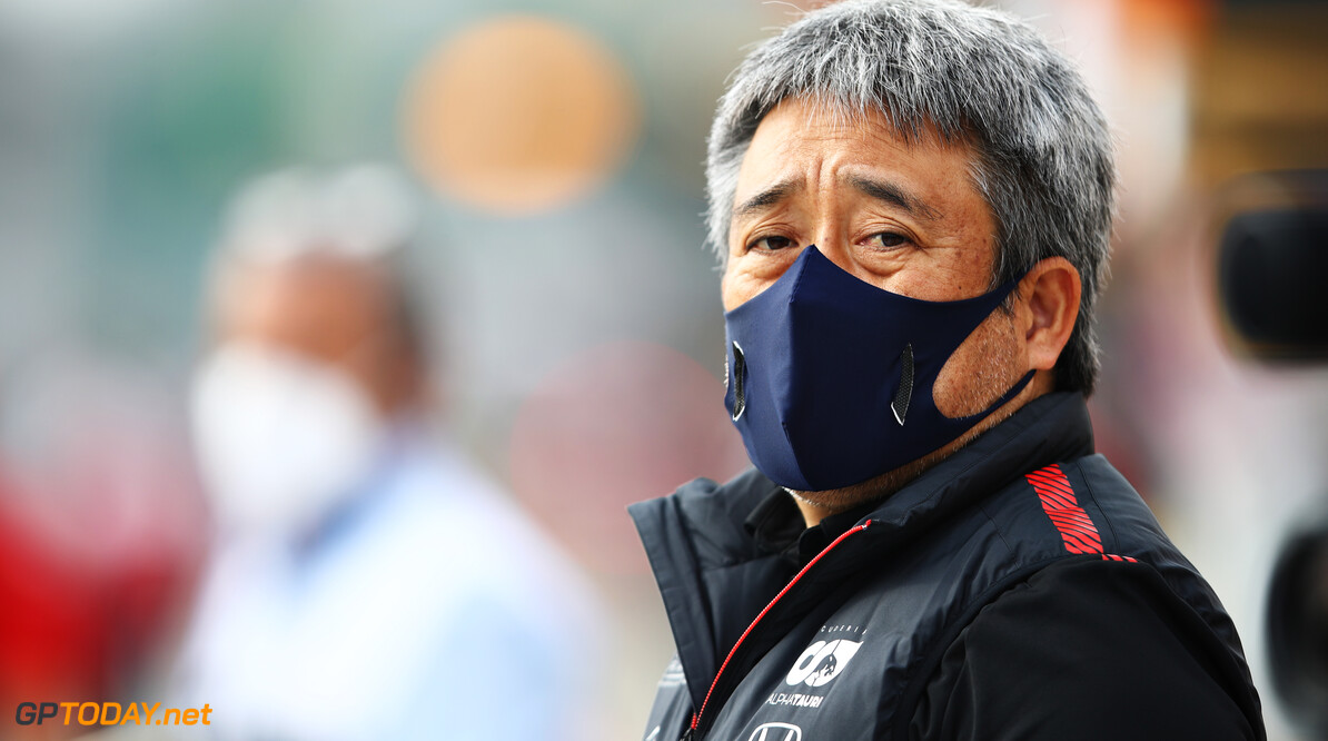 IMOLA, ITALY - NOVEMBER 01: Masashi Yamamoto of Honda uses  looks on during the F1 Grand Prix of Emilia Romagna at Autodromo Enzo e Dino Ferrari on November 01, 2020 in Imola, Italy. Red Bull Racing, Scuderia AlphaTauri (Photo by Mark Thompson/Getty Images) // Getty Images / Red Bull Content Pool  // SI202011010304 // Usage for editorial use only //  F1 Grand Prix of Emilia Romagna     SI202011010304