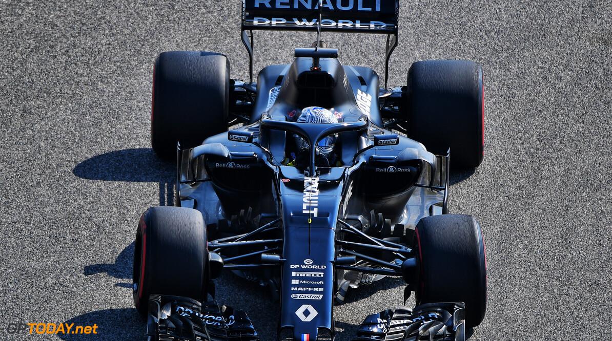 RS18 Bahrain Test Fernando Alonso (ESP) in the Renault F1 Team RS18  RS18 Bahrain Test, Thursday 5th November 2020. Sakhir, Bahrain. Motor Racing - Formula One - RS18 Bahrain Test - Sakhir, Bahrain Bahrain International Circuit Sakhir bahrain  Sakhir BIC Track Bahrain Formula One F1 Bahrain International Circuit Mamana Test sp:rsmedia Action Testing Formula 1