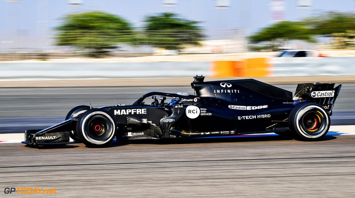 RS18 Bahrain Test Fernando Alonso (ESP) in the Renault F1 Team RS18.  RS18 Bahrain Test, Wednesday 4th November 2020. Sakhir, Bahrain. Motor Racing - Formula One - RS18 Bahrain Test - Sakhir, Bahrain XPB / James Moy Photography Ltd. Sakhir bahrain  Sakhir BIC Track Bahrain Formula One F1 Bahrain International Circuit Mamana Test sp:rsmedia Action Testing Formula 1