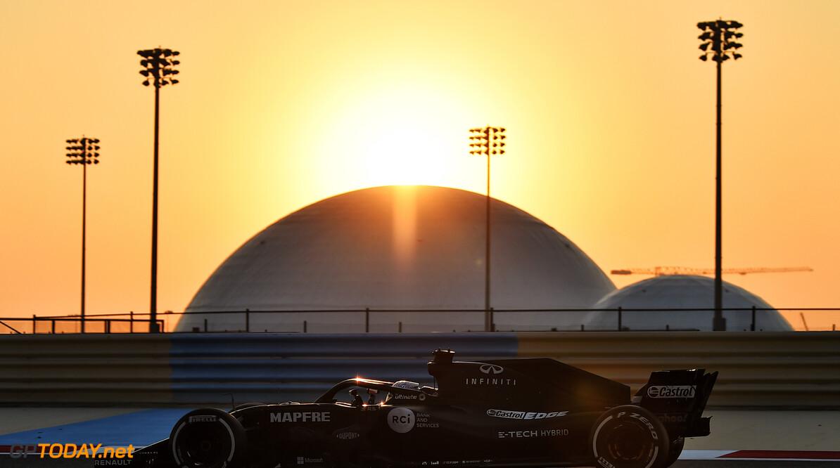 Renault sluit zes dagen testen op circuit Bahrein af