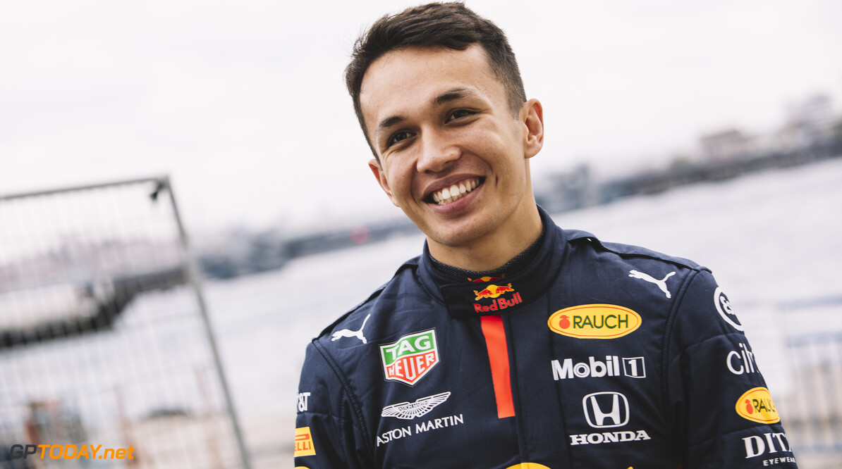 Alexander Albon is seen during Project Istanbulls in Istanbul, Turkey on November 10, 2020 // Nuri Yilmazer/Red Bull Content Pool // SI202011110006 // Usage for editorial use only //  Alexander Albon     SI202011110006