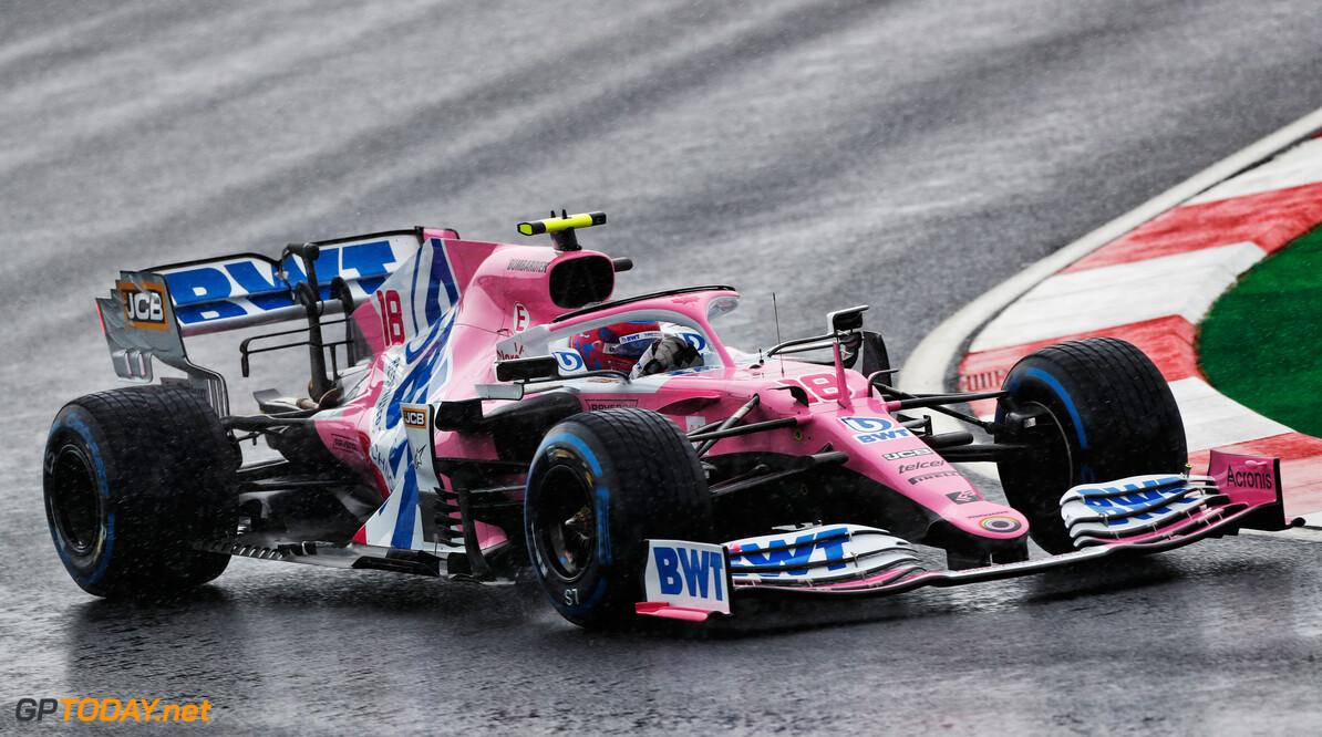 F1 kwalificatie GP Turkije: Stroll pakt eerste pole in knotsgekke kwalificatie