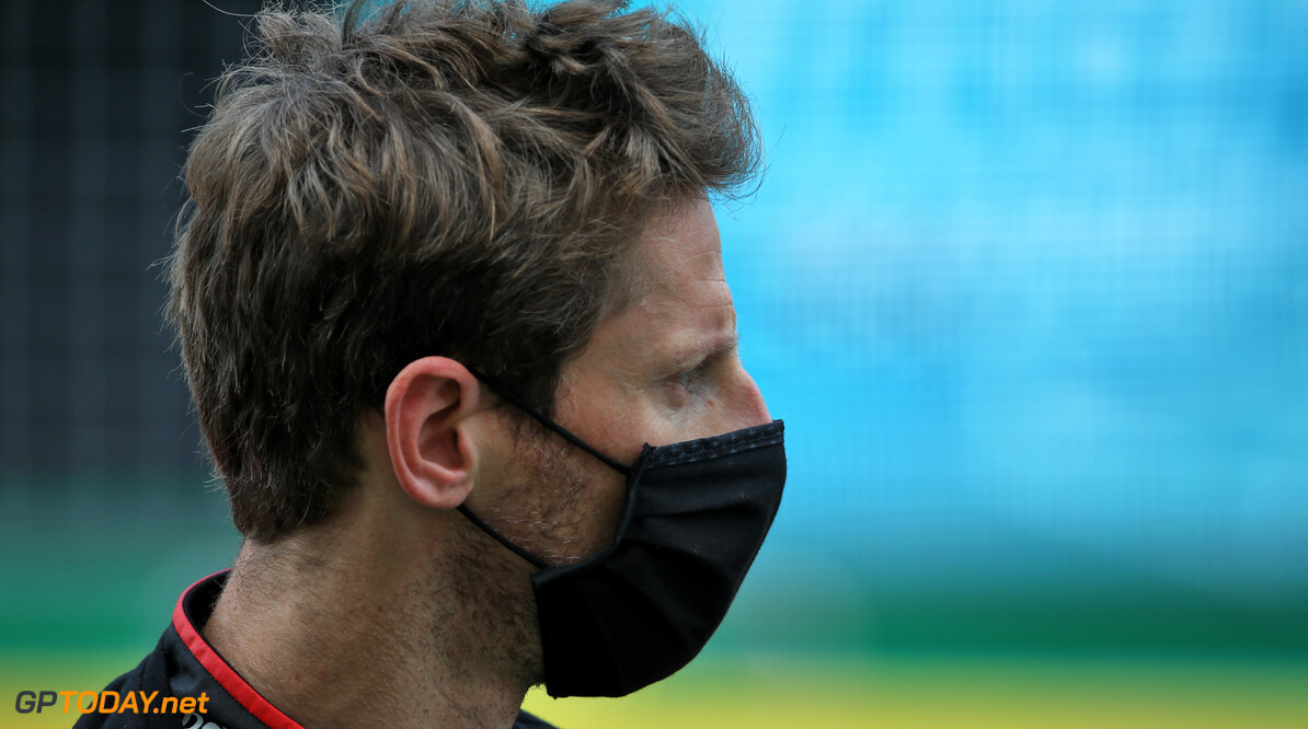 """Romain Grosjean over uitvalbeurt: """"Voelde me helemaal niet comfortabel in de auto"""""""