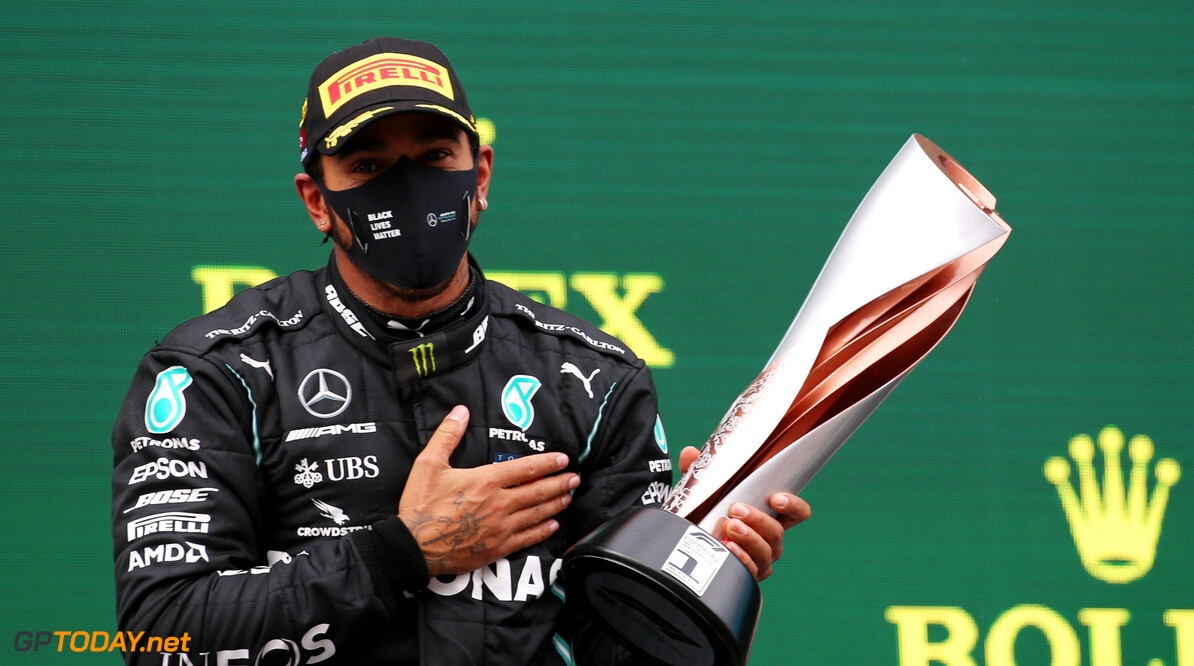 """Hamilton klaar voor """"meest gelukkige dag in zijn leven"""" om geridderd te worden"""