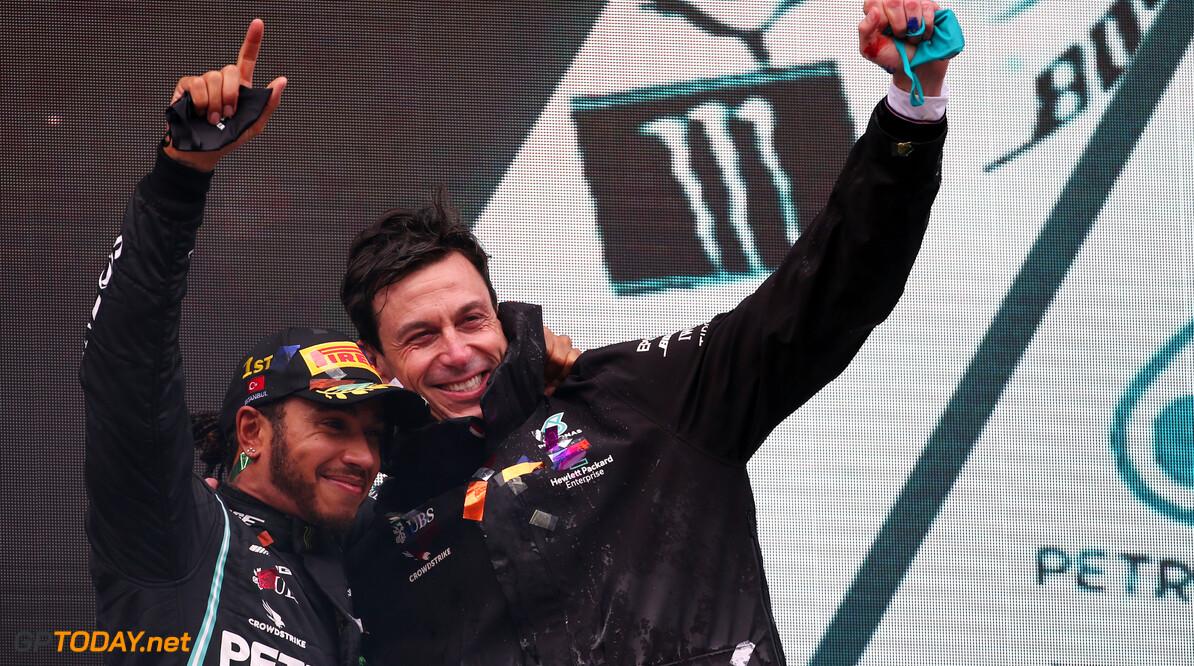 De beste foto's van de Grand Prix van Turkije 2020