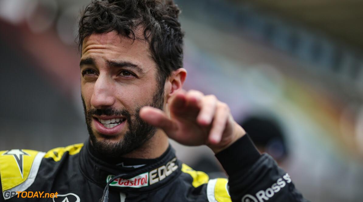 """Ricciardo geeft strijd om derde plek nog niet op: """"We zijn wel de underdog"""""""