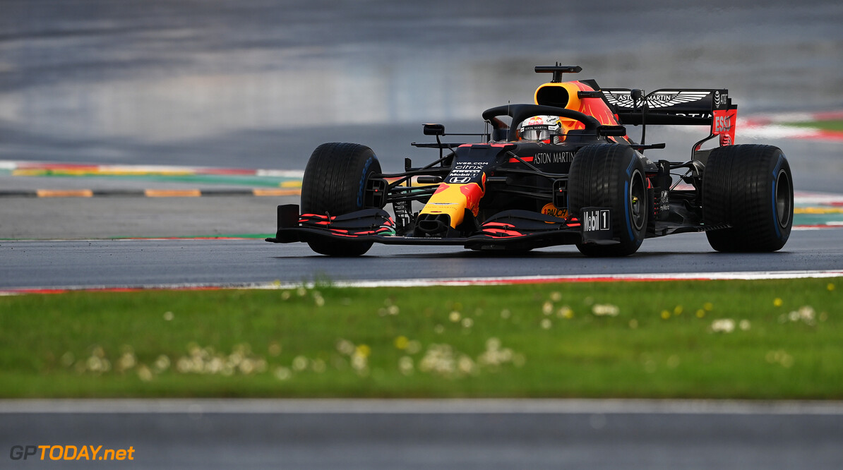 ISTANBUL, TURKEY - NOVEMBER 15: Max Verstappen of the Netherlands driving the (33) Aston Martin Red Bull Racing RB16 on track during the F1 Grand Prix of Turkey at Intercity Istanbul Park on November 15, 2020 in Istanbul, Turkey. (Photo by Ozan Kose - Pool/Getty Images) // Getty Images / Red Bull Content Pool  // SI202011150119 // Usage for editorial use only //  F1 Grand Prix of Turkey     SI202011150119