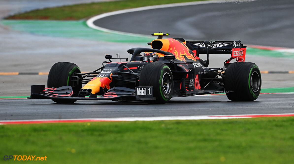 ISTANBUL, TURKEY - NOVEMBER 15: Alexander Albon of Thailand driving the (23) Aston Martin Red Bull Racing RB16 on track during the F1 Grand Prix of Turkey at Intercity Istanbul Park on November 15, 2020 in Istanbul, Turkey. (Photo by Ozan Kose - Pool/Getty Images) // Getty Images / Red Bull Content Pool  // SI202011150133 // Usage for editorial use only //  F1 Grand Prix of Turkey     SI202011150133