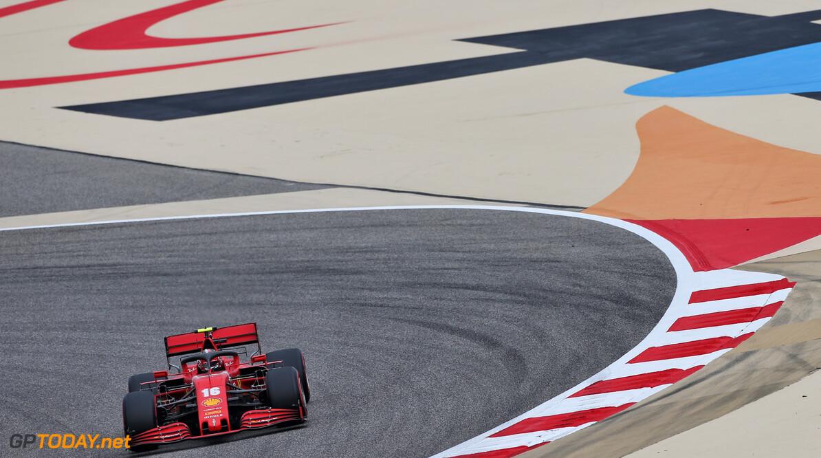 Alle Ferrari-aangedreven auto's langzamer in Bahrein