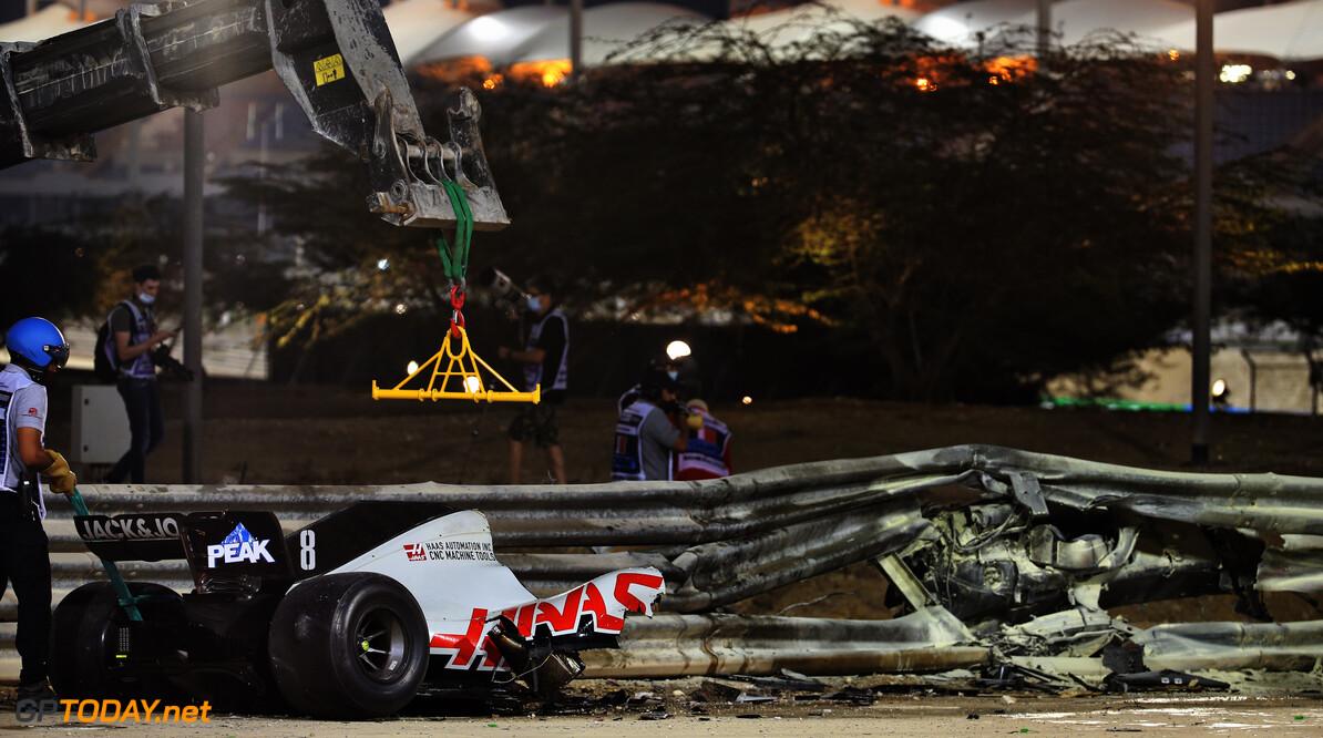 """Kvyat: """"Ik was erg boos op Grosjean omdat hij naar rechts slingerde"""""""