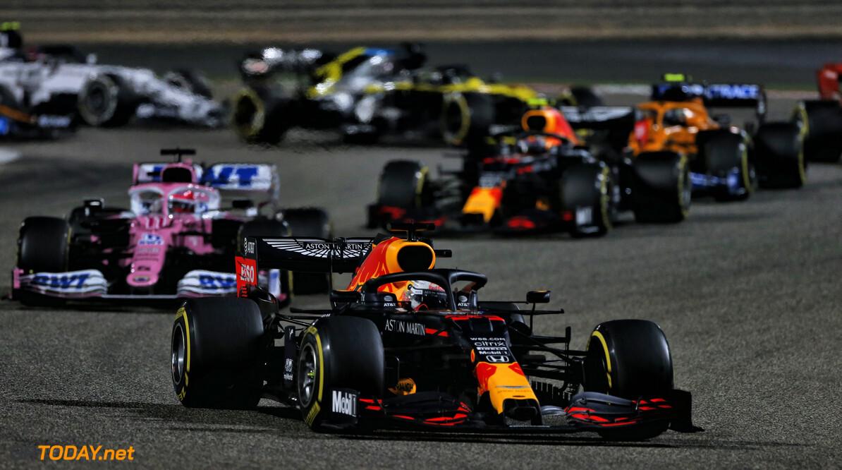 """Verstappen na tweede plek GP Bahrein: """"Hamilton had overal een antwoord op"""""""