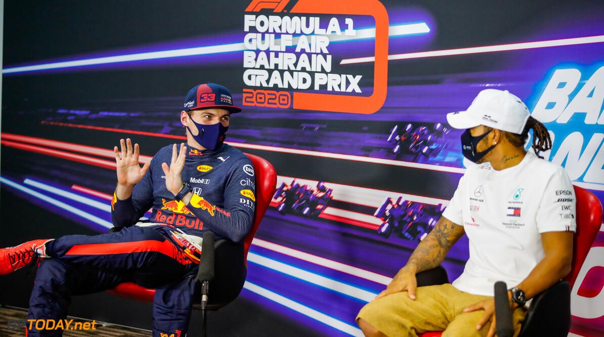 """Max Verstappen: """"Hamilton heeft gewoon pech dat hij corona heeft"""""""