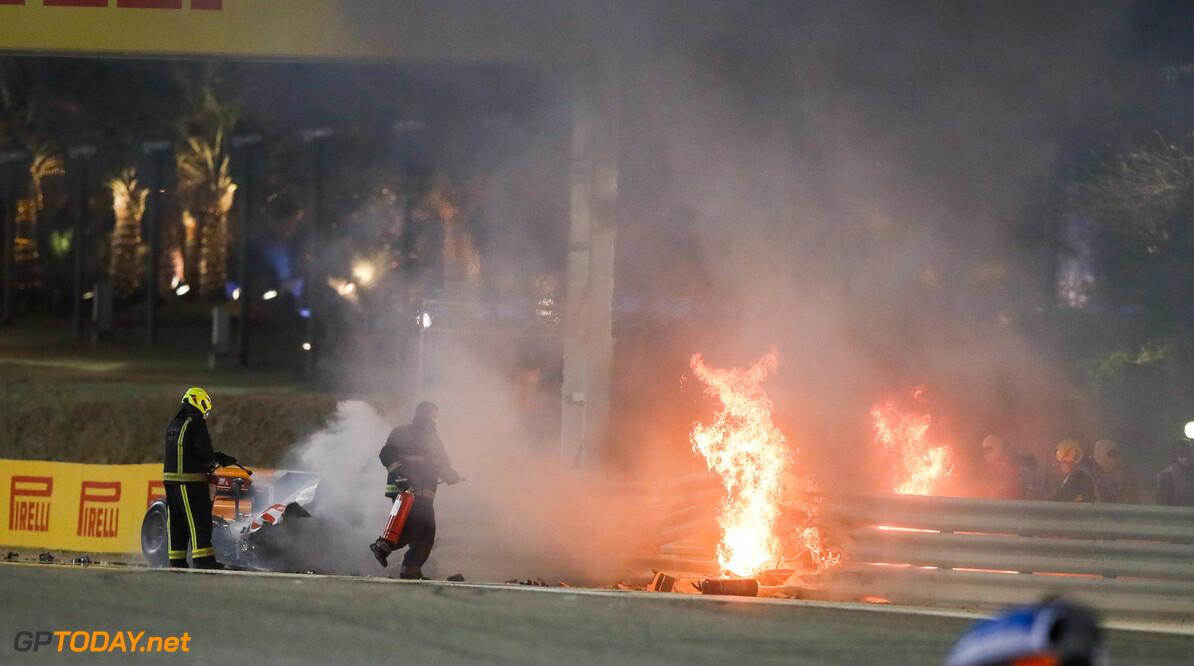 Ongelofelijk: de hand van Romain Grosjean één maand na zijn horror-crash