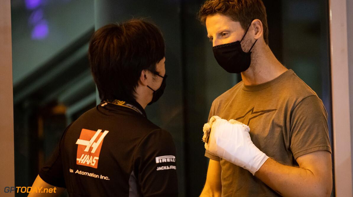 Romain Grosjean mag verband om zijn hand definitief afdoen