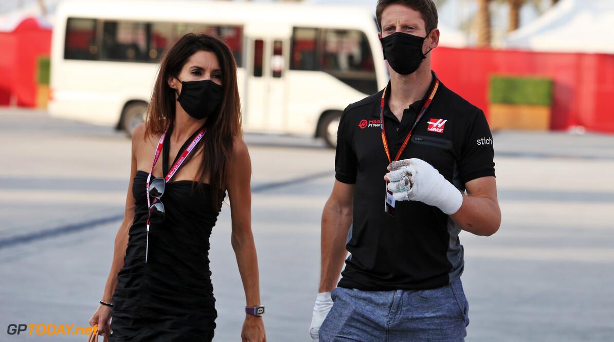 In beeld: Romain Grosjean terug in zijn VF-20