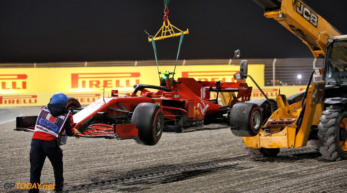 FIA straft Charles Leclerc met 3 plaatsen voor Abu Dhabi na botsing met Perez en Verstappen
