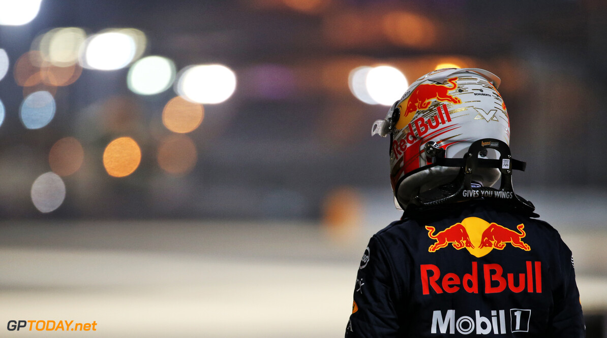 <b>Video:</b> Max Verstappen's reactie na de crash in Bahrein