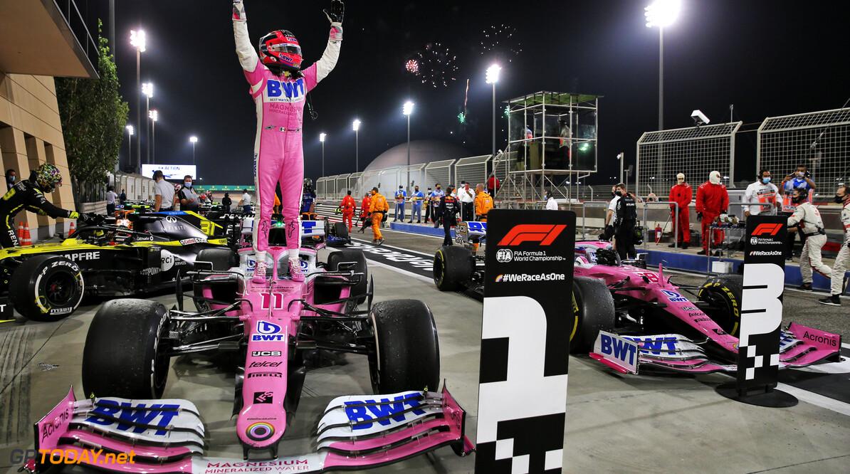 """GP-winnaar Sergio Perez: """"Het duurde 10 jaar voor ik won"""""""