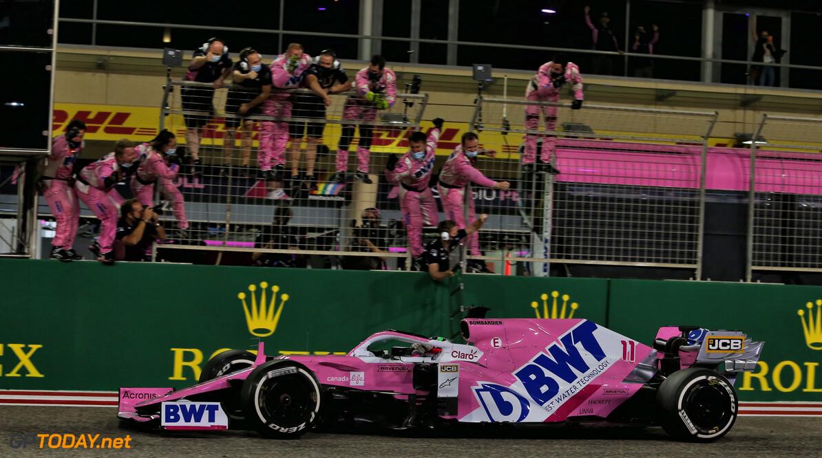 Sergio Perez wint krankzinnige Sakhir Grand Prix voor Ocon en Stroll