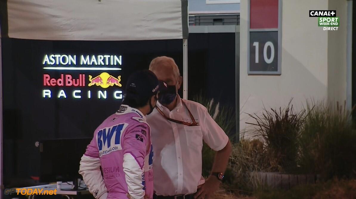 """Sergio Perez: """"Helmut Marko was één van de eerste die mij feliciteerde"""""""