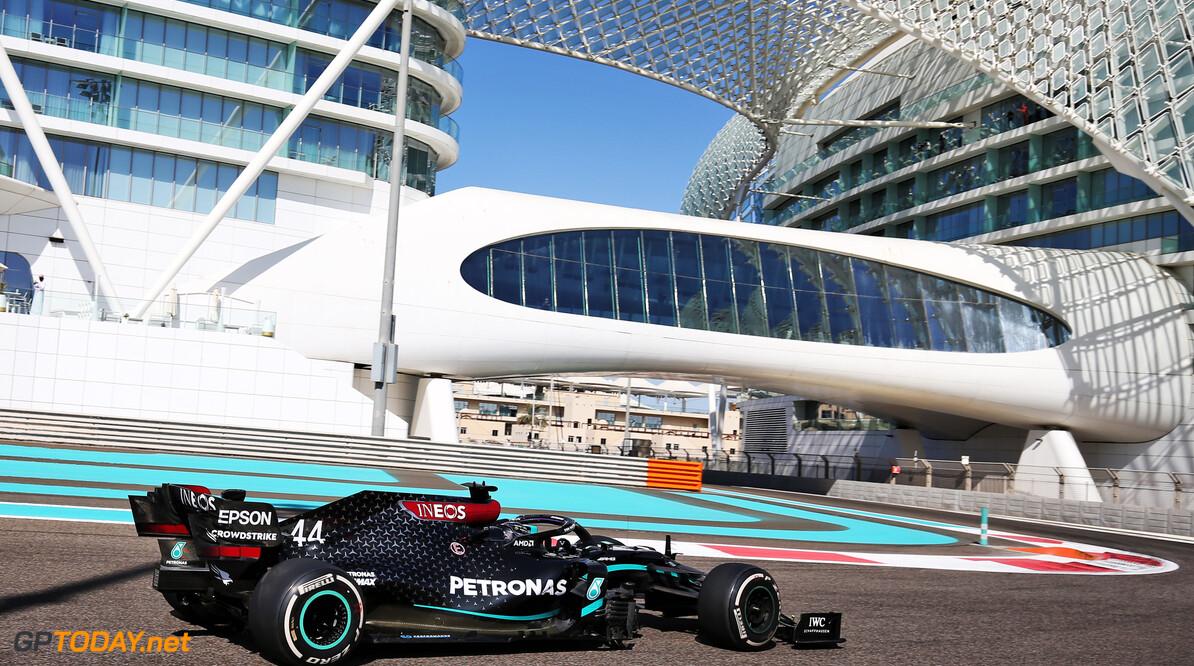 Lewis Hamilton voelt geen bewijsdrang in slotweekend: ''Ik wil vooral genieten''