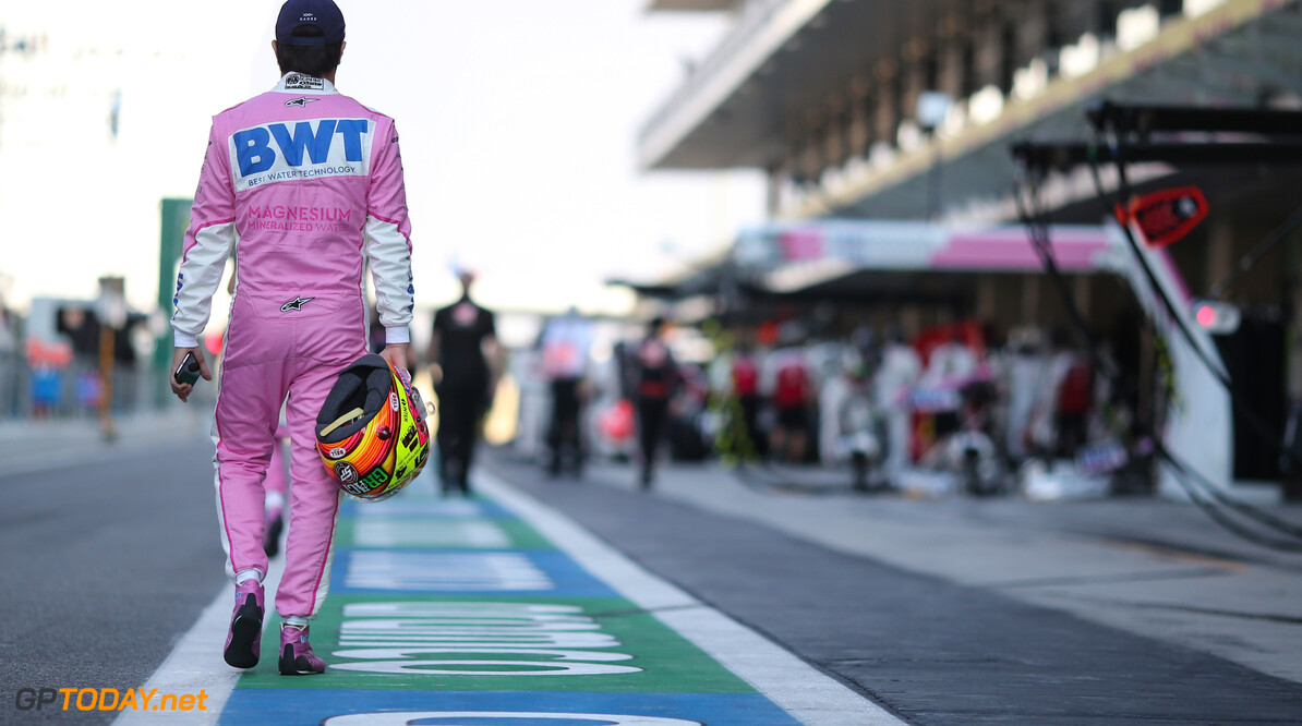 <b>Video:</b> Zo nam Sergio Perez in Abu Dhabi afscheid van Racing Point