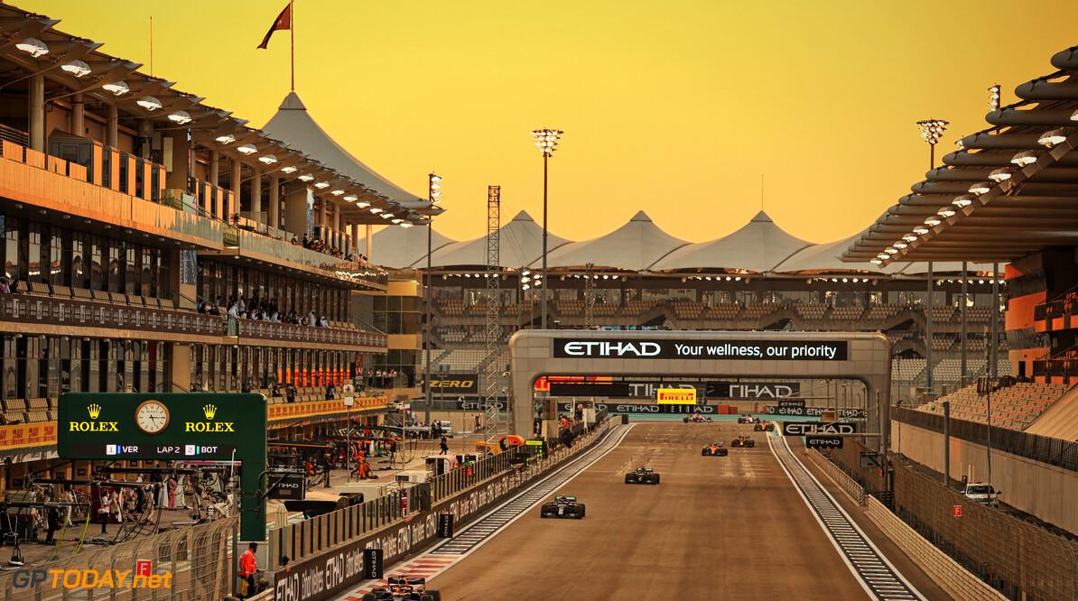 De beste foto's van de Grand Prix van Abu Dhabi