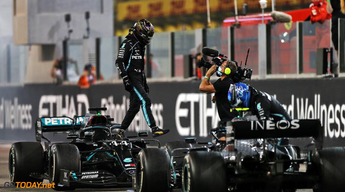 'Mercedes speelde verstoppertje tijdens Grand Prix van Abu Dhabi'