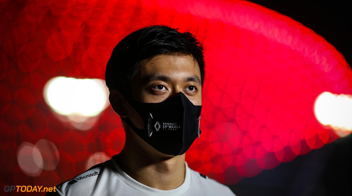 Zhou heeft genoten van zijn officiële F1-debuut