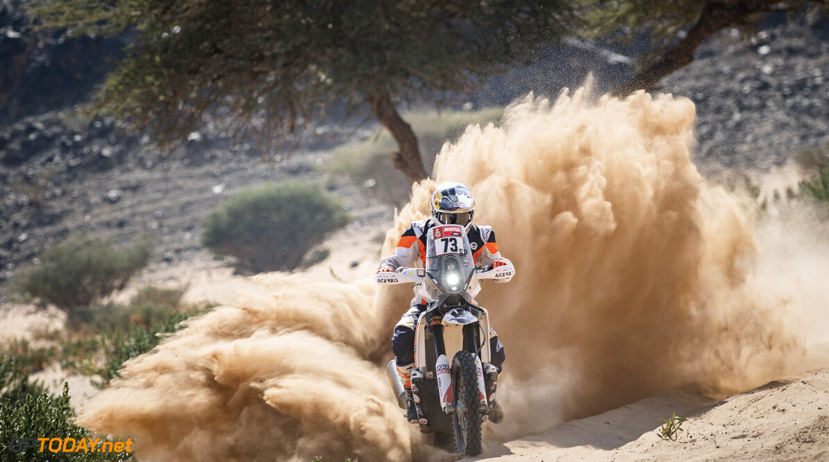 Mohammed Jaffar (KWT) of Duust Rally Team races during stage 4 of Rally Dakar2021 from Wadi Ad Dawasir to Riyadh, Saudi Arabia on January 6, 2021 // Marcelo Maragni/Red Bull Content Pool // SI202101060084 // Usage for editorial use only //  Mohammed Jaffar     SI202101060084
