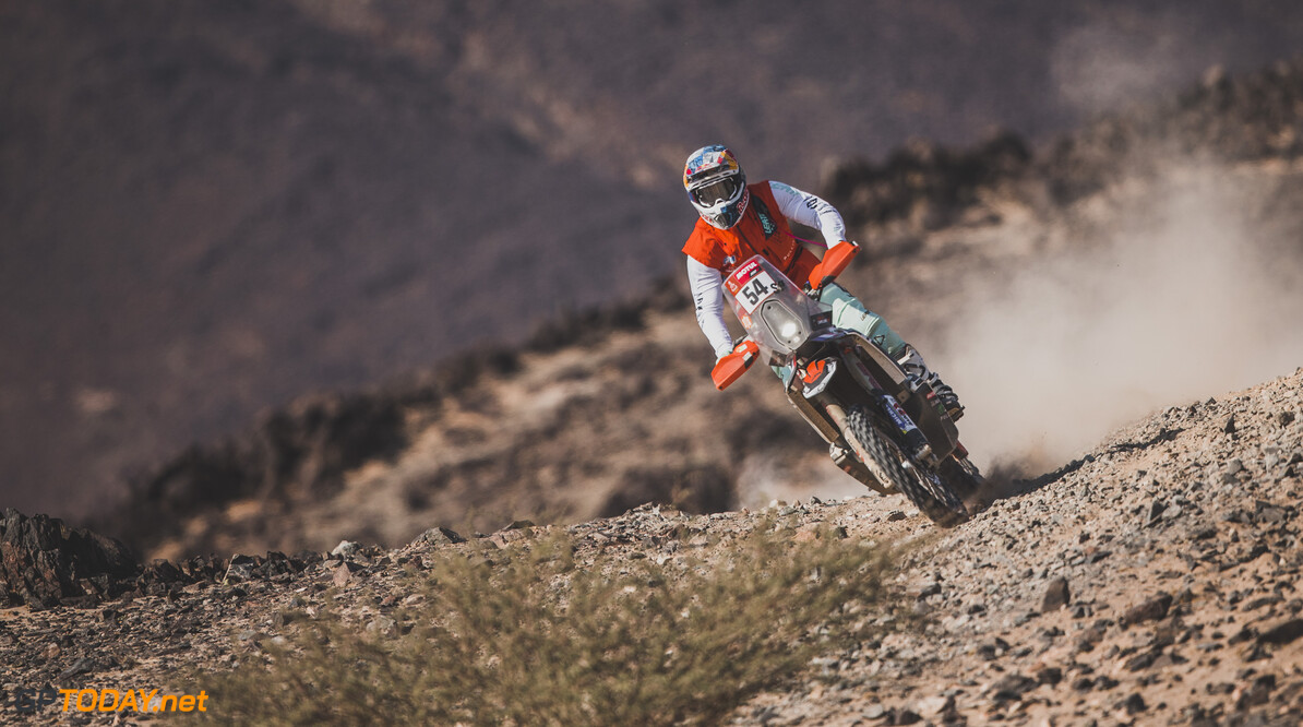 Camille Chapeliere (FRA) for Team Baines Rally races during stage 4 of Rally Dakar 2021 from Wadi Ad-Dawasir to Riyadh, Saudi Arabia on January 6, 2021. // Flavien Duhamel/Red Bull Content Pool // SI202101060138 // Usage for editorial use only //  Camille Chapeliere     SI202101060138