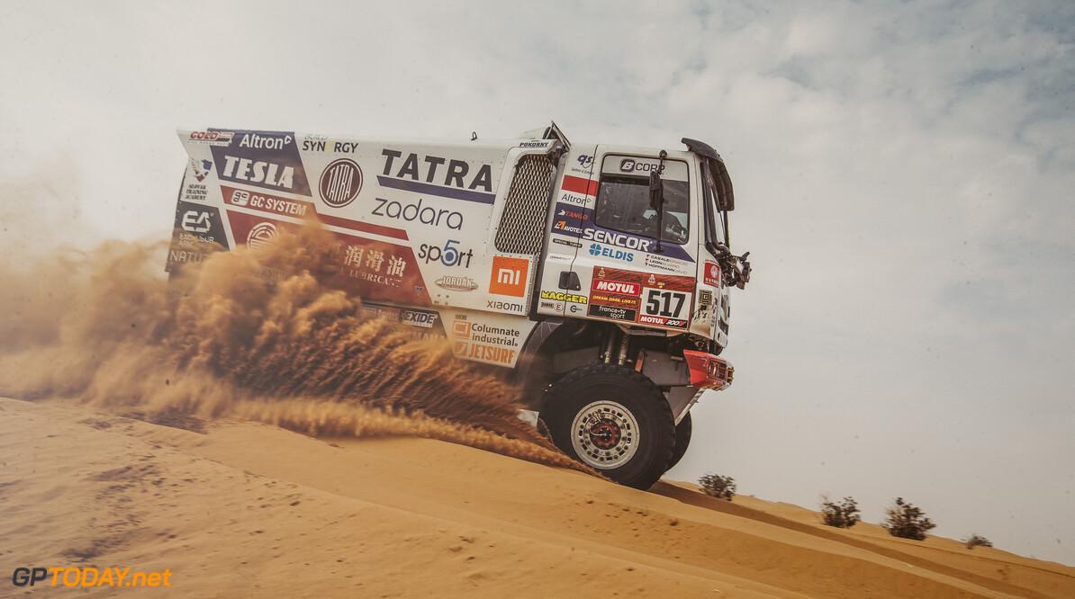 Ignacio Casale (CHL) for TATRA BUGGYRA RACINGraces during stage 5 of Rally Dakar 2021 from Riyadh to Buraydah, Saudi Arabia on January 07, 2021. // Flavien Duhamel/Red Bull Content Pool // SI202101070135 // Usage for editorial use only //  Ignacio Casale     SI202101070135