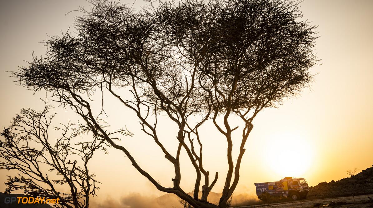 Anton Shibalov (RUS) of Team KAMAZ-Master races during the prologue stage of Rally Dakar2021 around Jeddah, Saudi Arabia on January 2, 2021 // Marcelo Maragni/Red Bull Content Pool // SI202101020033 // Usage for editorial use only //  Anton Shibalov     SI202101020033