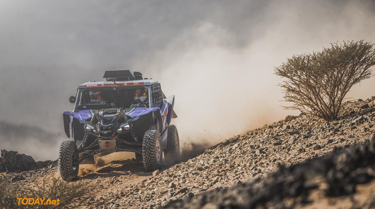 Mattias Ekstr?? 1/2 m (SWE) for Yamaha powered by X-Raid team races during stage 4 of Rally Dakar 2021 from Wadi Ad-Dawasir to Riyadh, Saudi Arabia on January 6, 2021. // Flavien Duhamel/Red Bull Content Pool // SI202101060151 // Usage for editorial use only //  Mattias Ekstr?? 1/2 m     SI202101060151