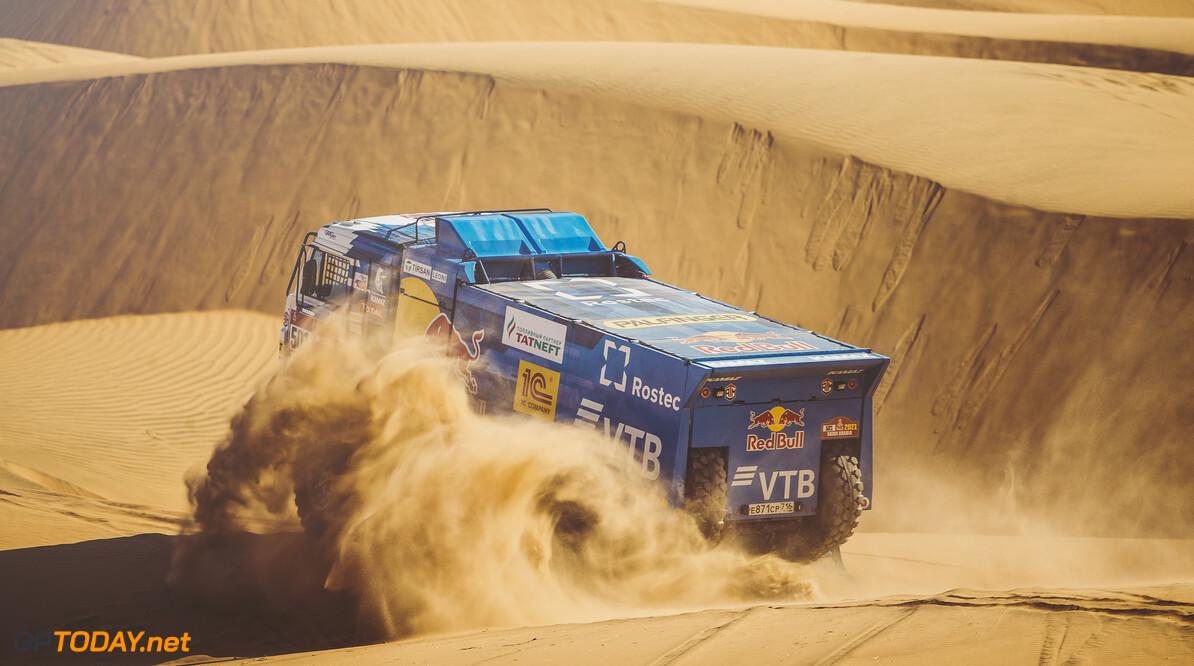 Anton Shibalov (RUS) for KAMAZ Master races during stage 2 of Rally Dakar 2021 from Bisha to Wadi Ad-Dawasir, Saudi Arabia on January 04, 2021. // Flavien Duhamel/Red Bull Content Pool // SI202101040101 // Usage for editorial use only //  Anton Shibalov     SI202101040101