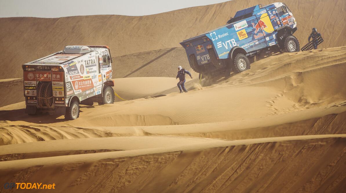 Anton Shibalov (RUS) for KAMAZ Master races during stage 2 of Rally Dakar 2021 from Bisha to Wadi Ad-Dawasir, Saudi Arabia on January 04, 2021. // Flavien Duhamel/Red Bull Content Pool // SI202101040095 // Usage for editorial use only //  Anton Shibalov     SI202101040095