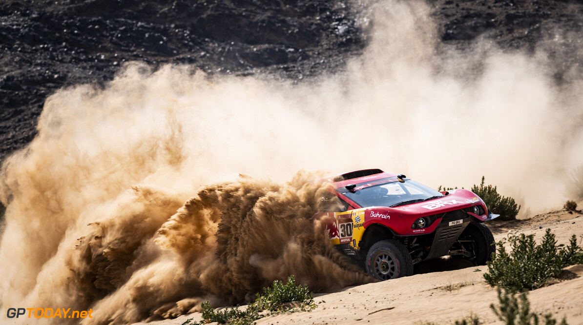 S?? 1/2 bastien Loeb (FRA) of Bahrain Raid Xtreme races during stage 4 of Rally Dakar2021 from Wadi Ad Dawasir to Riyadh, Saudi Arabia on January 6, 2021 // Marcelo Maragni/Red Bull Content Pool // SI202101060088 // Usage for editorial use only //  S?? 1/2 bastien Loeb     SI202101060088