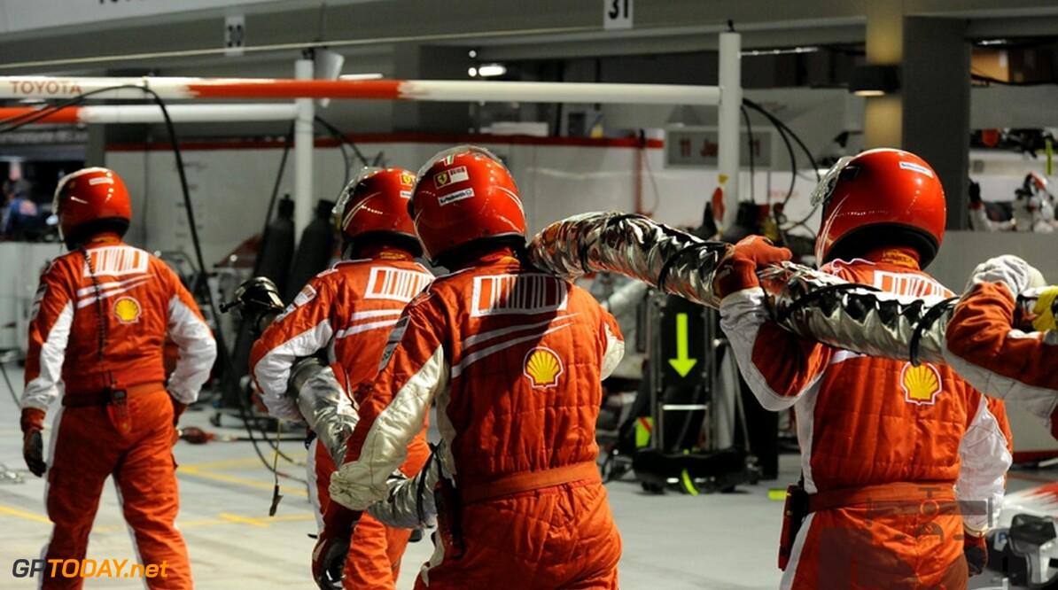 Fans vinden pitlichtensysteem Ferrari gevaarlijk